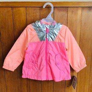 🆕 OSKOSH B'GOSH Toddler Girl Multicolor Jacket.